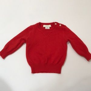 Crewcuts Cashmere Sweater - 9-12 months